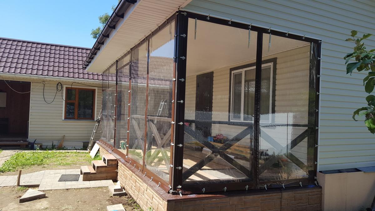 Мягкие окна для веранды в Клину