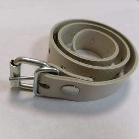 Серый подвязочный ремень для мягких окон