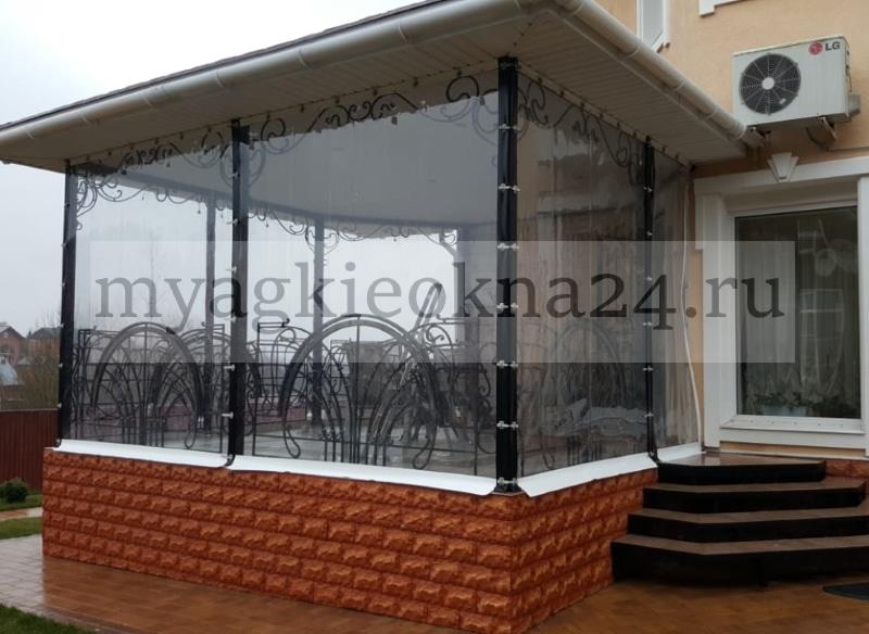 Мягкие окна на веранду в Апрелевке