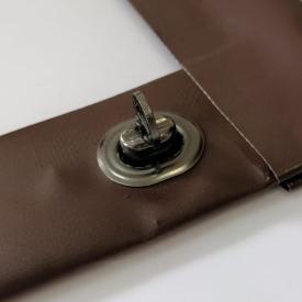 Малая поворотная скоба для мягких окон булат