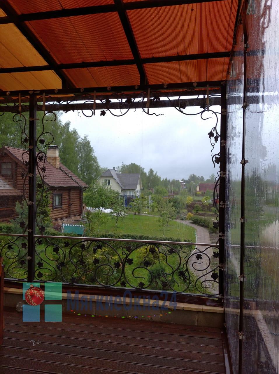 Мягкие окна для веранды в Наро-Фоминске