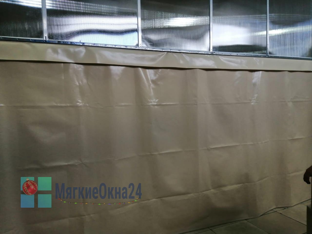 Промышленные ПВХ шторы