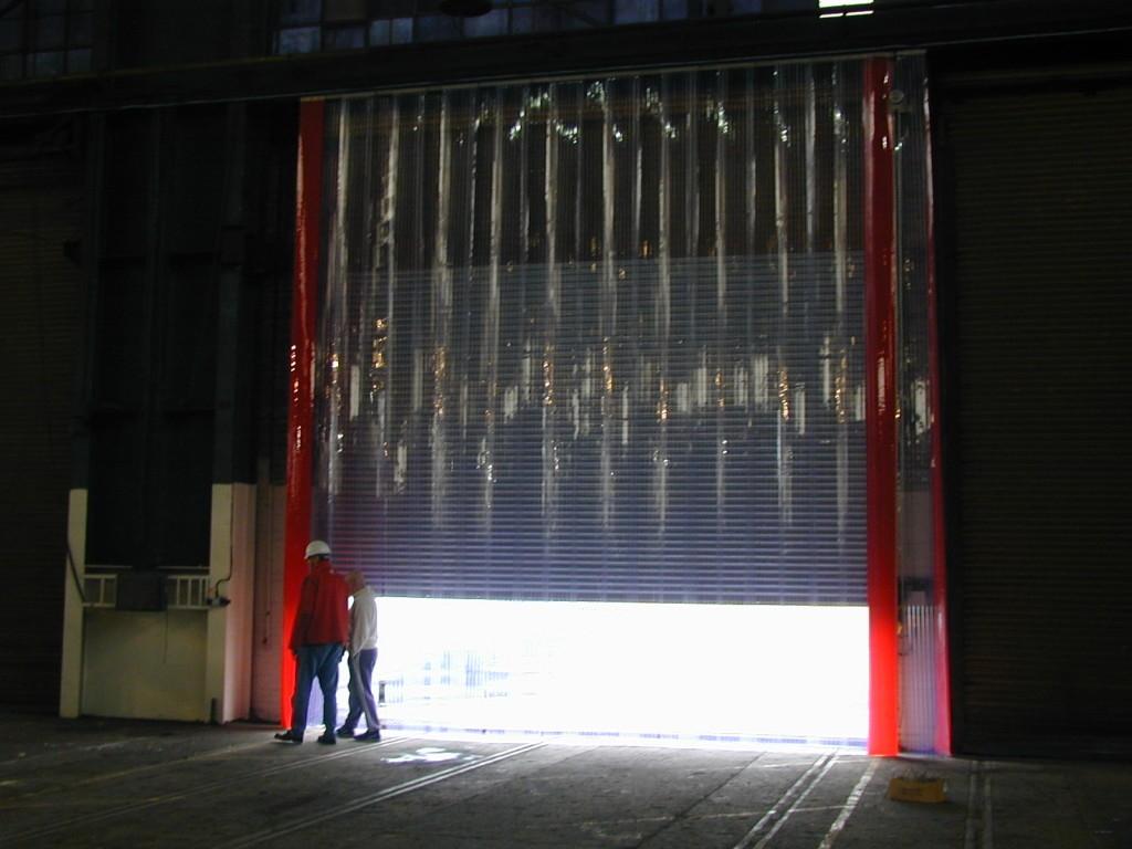 Завесы ПВХ для цеха