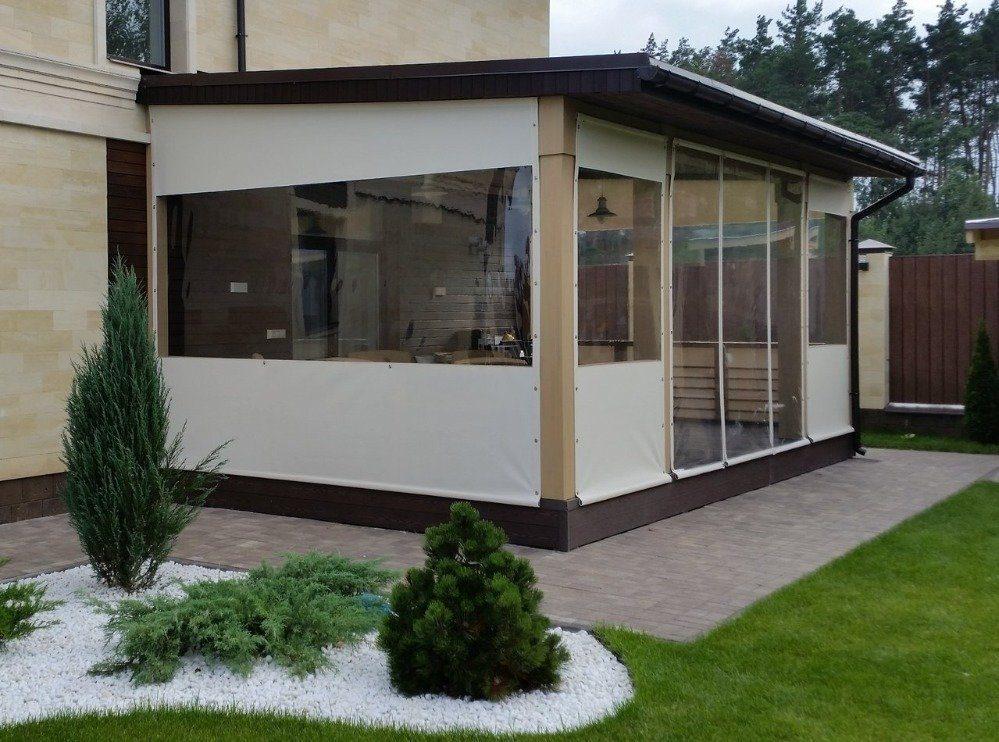 мягкие окна скрин для веранды комбинированные