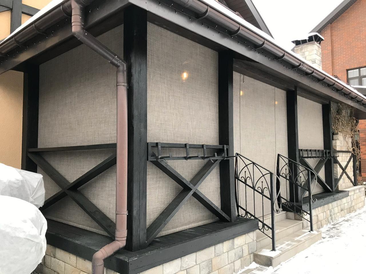 мягкие окна скрин для веранды