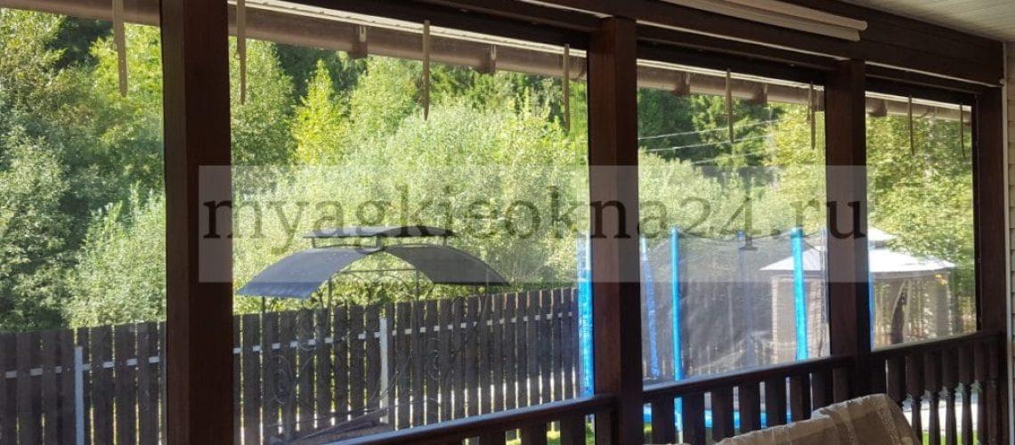 Мягкие окна в Чехове. Вид изнутри