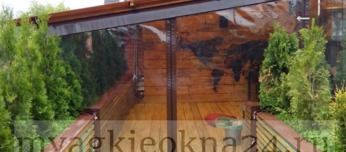 Мягкие окна для террасы в Кубинке